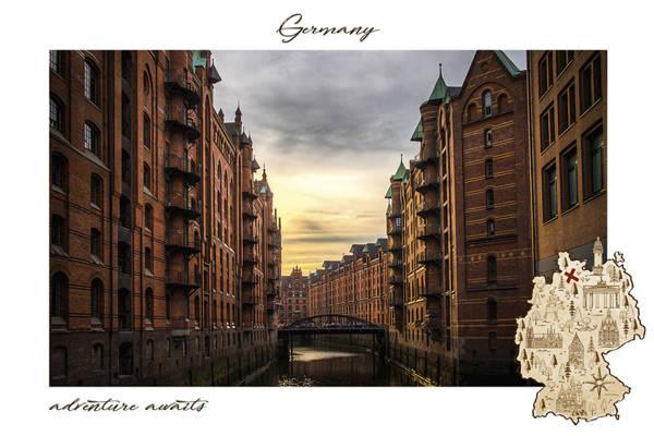 Speicherstadt w Hamburgu